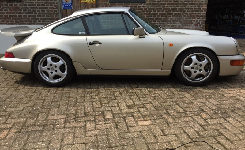 Porsche 964 Coupe '90 Leinengrey 5-speed-40